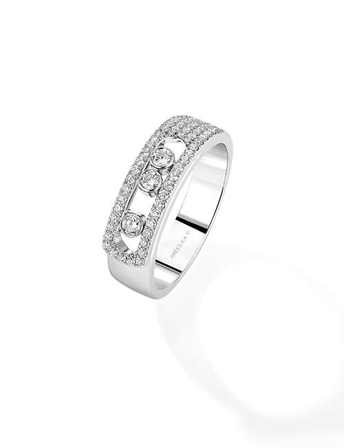 Juwelier Kopf » Messika Joaillerie – Ring Noa Pav+®e 6129 W